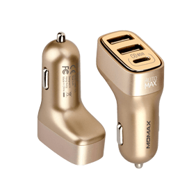 АЗУ Momax Elite Type-C Car Charger (UC5T)