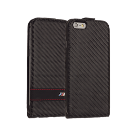 Чехол-книжка BMW M-Collection Flip Carbon для Apple iPhone 6/6S (BMFLP6MCC)