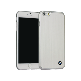 Чехол-накладка BMW Signature Brushed Aluminium для Apple iPhone 6/6S Plus (BMHCP6LMBS)