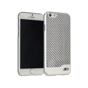 Чехол-накладка BMW M-Collection Aluminium&Carbon для Apple iPhone 6/6S (BMHCP6MDC)