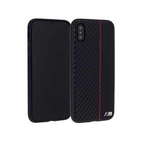 Чехол-накладка BMW M-Collection Carbon Inspiration для Apple iPhone X (BMHCPXCAP)
