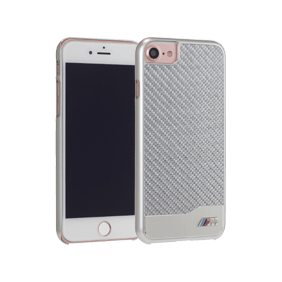 Чехол-накладка BMW M-Collection Aluminium&Carbon для Apple iPhone 7/8 (BMHCP7MDC)