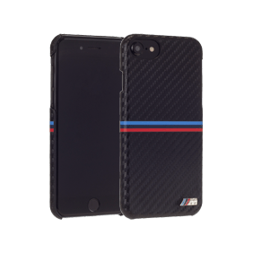 Чехол-накладка BMW M-Collection Carbon Inspiration для Apple iPhone 7/8 (BMHCP7LMCA)