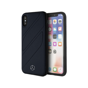 Чехол-накладка New Organic I Hard Leather для Apple iPhone X/XS (MEHCPXTHL)