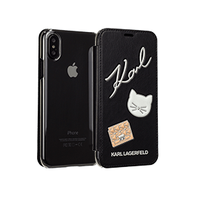Чехол-книжка Embossed Pins Booktype для Apple iPhone X (KLFLBKPXPPIN)