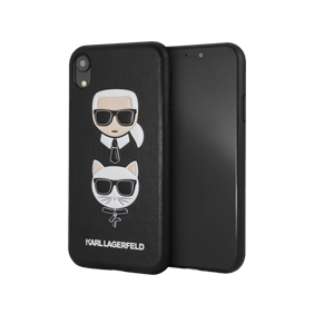 Чехол-накладка PU Leather Karl and Choupette Hard для Apple iPhone XR (KLHCI61KICKС)