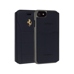 Чехол-книжка Ferrari 488 Booktype для Apple iPhone 7/8 (FESEGFLBKP7)