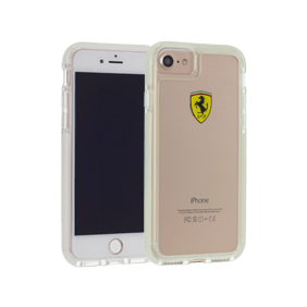 Чехол-накладка Ferrari Shockproof для Apple iPhone 7/8 (FEGLHCP7TR)