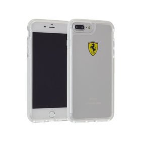 Чехол-накладка Ferrari Shockproof для Apple iPhone 7 Plus/8 Plus (FEGLHCP7LTR)