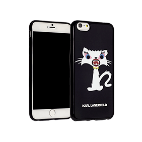 Чехол-накладка Lagerfeld Monster Choupette для Apple iPhone 6/6S Plus (KLHCP6LMC2)
