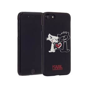 Чехол-накладка Lagerfeld Choupette in Love для Apple iPhone 7/8 (KLHCP7CL1)