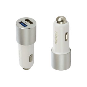 АЗУ Meizu Dual Port Car Charger 2USB 3A MCharge