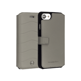 Чехол-книжка Merсedes-Benz Wave VII Booktype для Apple iPhone 7/8 (MEFLBKP7CUS)