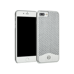 Чехол-накладка Merсedes-Benz Wave V Carbon&Aluminium для Apple iPhone 7 Plus/8 Plus (MEHCP7LCAC)
