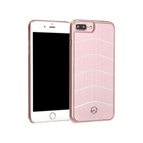Чехол-накладка Merсedes-Benz Wave Vlll Brushed Aluminium для Apple iPhone 7 Plus/8 Plus (MEHCP7LCUSAL)