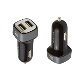 АЗУ Momax Polar Light Series Car Charger 3,4A 2USB (UC4)