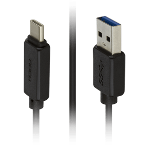 Кабель USB/Type-C Rock Type-C To A (RCB0413)