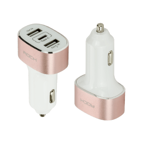АЗУ Rock Type-C Car Charger 3 USB, 5A (RCC0106)