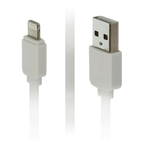 Кабель Lightning/USB Rock Flat 200 cm