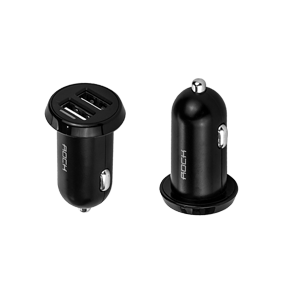 АЗУ Rock Ditor Car Charger 2 USB, 2.4A (RCC0108)