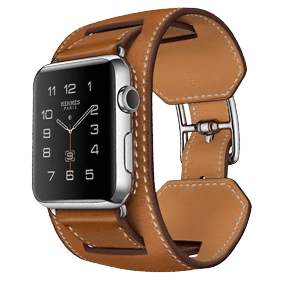 Ремешок Rock Genuine Leather Watch Strap Set для Apple Watch 42 mm (3 в 1)