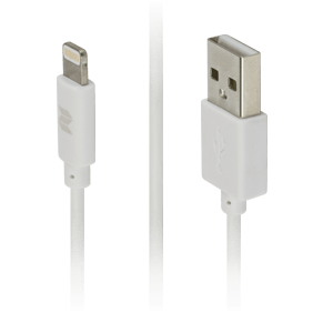 Кабель Lightning/USB Rock MFI Plastic Charge & Sync Round Cable 100 cm (RCB0444)