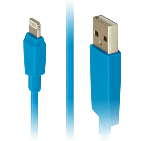 Кабель Lightning/USB Rock MFI M3 Round Cable 100 cm (RCB0473)