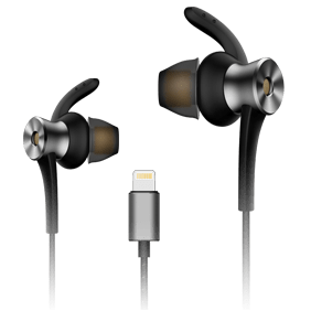Стерео-наушники 1MORE Dual-Driver LTNG ANC In-Ear Headphone (E1004)