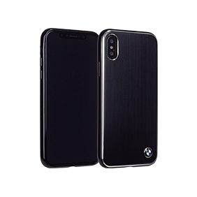 Чехол-накладка BMW Signature Brushed Aluminium для Apple iPhone X (BMHCPXSA)