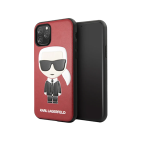 Задняя накладка Lagerfeld  ICONIK KARL EMBOSSED для Apple iPhone11 Pro Max (6.5) (KLHCN65IKPU)