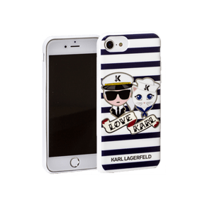 Чехол-накладка Lagerfeld Collection Sailors, Stripes (KLHCP7KSS)
