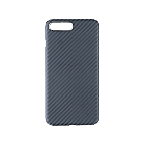 Чехол-накладка MCase Aramid Fiber case (Kevlar) Full sides для Apple iPhone 7/8 Plus (AR-FS-IP8P-BK)
