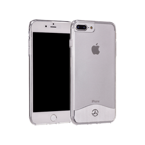 Чехол-накладка Merсedes-Benz Wave IX TPU&Aluminium для Apple iPhone 7 Plus/8 Plus (MEHCP7LTRBRSI)